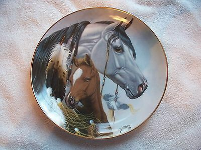 Heritage Of Horses Gift For A Princess Derk Hansen Collector Plate
