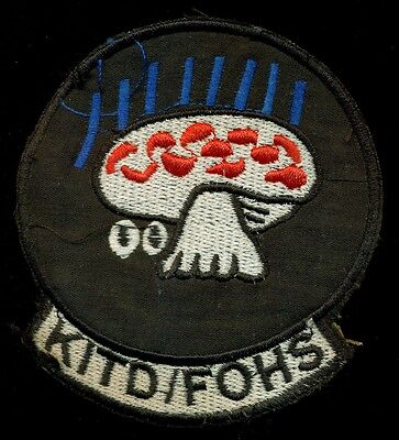 USAF Special Operations KITD / FOHS Vietnam Patch S-21