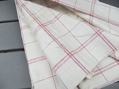 """Unused  Cottage Checked Duvet Cover Plaid Fabric Single Bed Twin  49 """" by 76 """""""