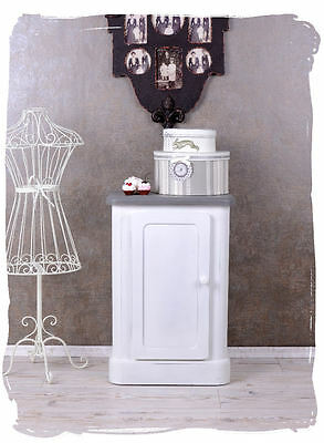 Bedside Table White Bedside Table Shabby Chic Bedside Console Bedroom