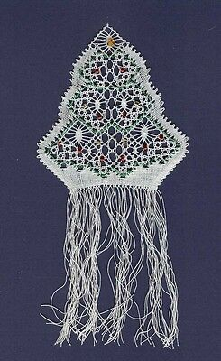 Christmas Tree Torchon Bobbin Lace Pattern Lacemaking *PATTERN ONLY*