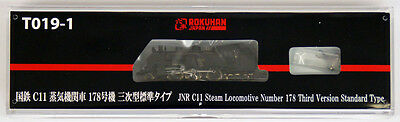 Rokuhan T019-1 Z Scale JNR Steam Locomotive C11 No. 178 Third Ver. Standard NZA