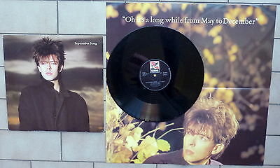 "IAN McCULLOCH DISCO 12"" MAXI SINGOLO SEPTEMBER SONG + POSTER - UK ? KOROVA"