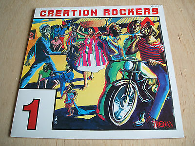 creation rockers vol 1 1979 uk trojan label vinyl lp  trls 180 excellent reggae