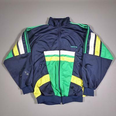Mens ADIDAS Vintage 1990s Polyester Tracksuit Top Jacket XL #E1669