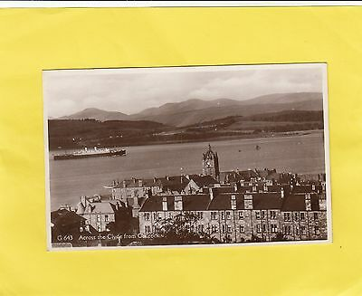 SHIP     ,  ACROSS THE  CLYDE  from   GOUROCK      , Renfrew , SCOTLAND ( C86  )