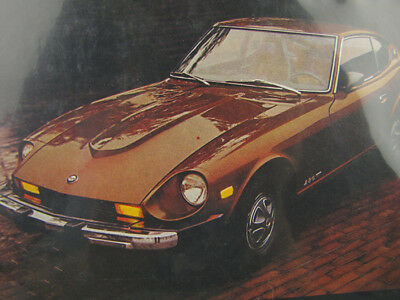 Vintage 1979 Datsun (Nissan) 280-Z Fuel Injected Full Page Advertisement