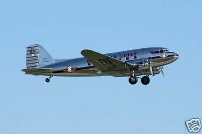 Giant 1/12 Scale American WW-II  DC-3 / C-47 Twin Plans, Templates, Instructions
