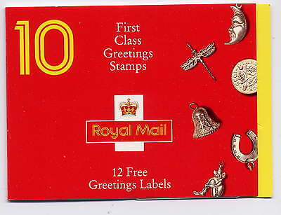 Gb 1991 Good Luck Greetings Stamps Booklet Kx2