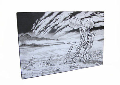 Grateful Dead 'Till The Morning Comes Black and White Canvass Print