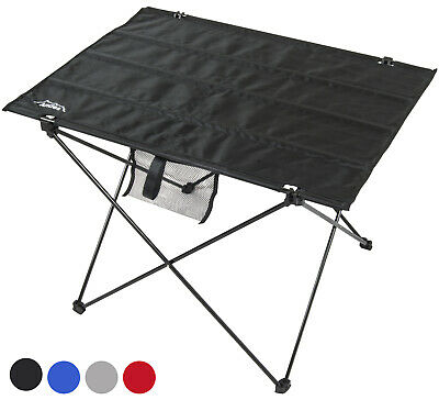 Andes Folding Portable Lightweight Aluminium Camping Picnic Table