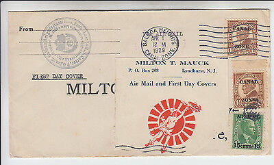 C1   Canal Zone Air Mail Fdc    Serviced By Mauck  1929