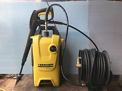 Karcher K5 compact home with hose reel kit