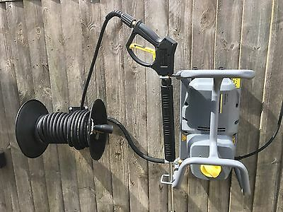 Karcher HD 5/11 Cage with hose reel kit which can be wall mounted