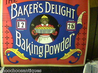 BAKER'S DELIGHT  `COUNTRY STORE' PRICE SIGN...Beautiful....Copy
