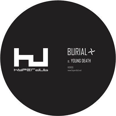 "BURIAL YOUNG DEATH / NIGHTMARKET HDB100 180g 12"" VINYL HYPERDUB DJ SEALED"