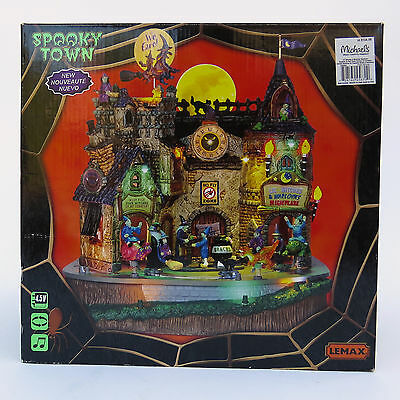 Lemax Spooky Town Halloween Lighted LIL' WITCHES & WARLOCKS NIGHTCARE