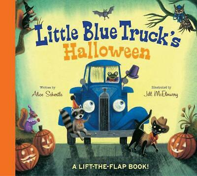 Little Blue Truck's Halloween by Alice Schertle Board Books Book (English)