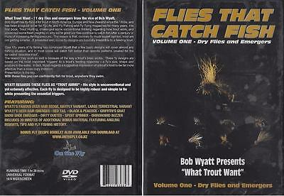 Flies That Catch Fish Volume 1 - Dry Flies and Emergers What Trout Want DVD New
