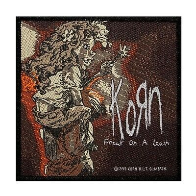 """Korn: Freak on a Leash"" Single Song Art Nu Metal Music Sew On Applique Patch"