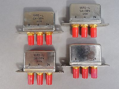 Lot of 4 Vari-L SH-384 Mixers NEW