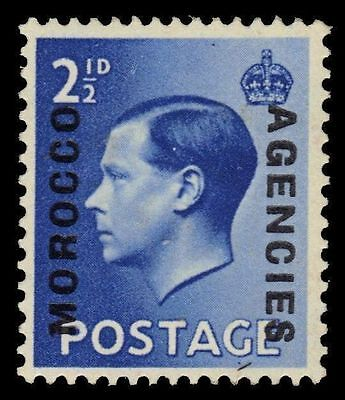 BRITISH OFFICES in MOROCCO 245a (SG76a) - King Edward VIII (pf47875)