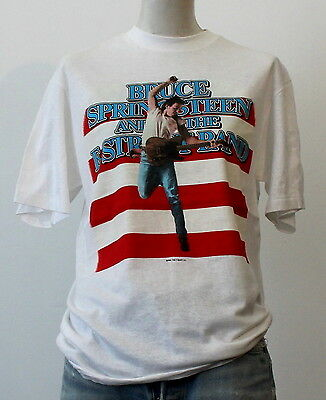 vintage 1984-85 BRUCE SPRINGSTEEN soft thin TOUR T SHIRT deadstock ROCK 80S