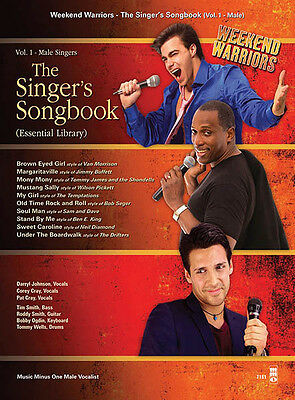 The Singer's Songbook Vol 1 for Male Singers Vocal Sheet Music Minus One Book CD