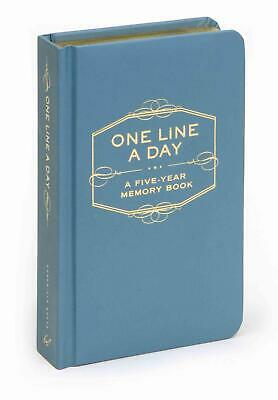 One Line a Day: A Five-Year Memory Book by Chronicle Books (English) Hardcover B