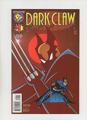 Dark Claw Adventures #1 - Batman & Wolverine Amalgam Comics - (Grade 9.2) 1997