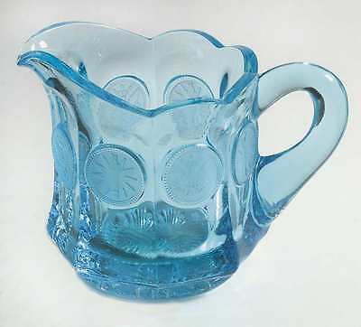 Fostoria COIN GLASS DARK BLUE Creamer 145526