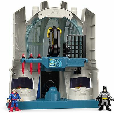 Imaginext Batman Vs Superman Hall Of Justice Playset Toy New Free Post