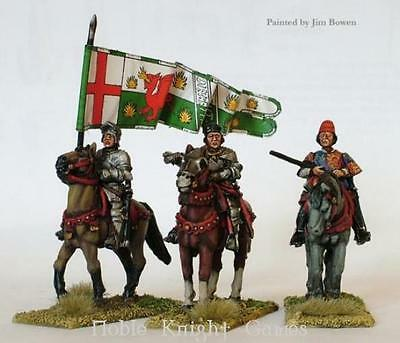 Perry Historical Mini 28mm Lancastrian Mounted High Command Pack MINT