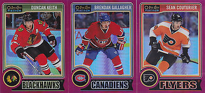 14-15 OPC Platinum Brendan Gallagher /135 Red Prism OPEECHEE Canadiens 2014