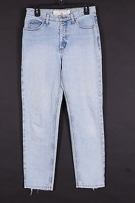 Vtg 80S Guess High Waisted Denim Mom Jeans Usa Womens Size 29-29