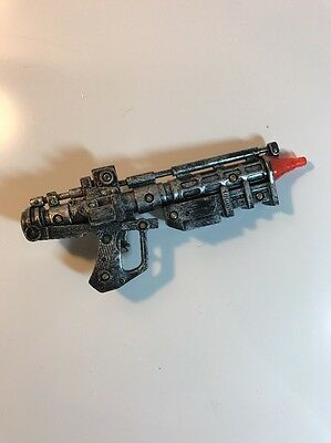 "Star Wars Lucasfilm LTD Toy Blaster Assault Gun Lights Sounds 6"" Working"