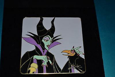 Disney Elisabete Gomes Maleficent & Diablo Pin LE 100 New  rare HTF