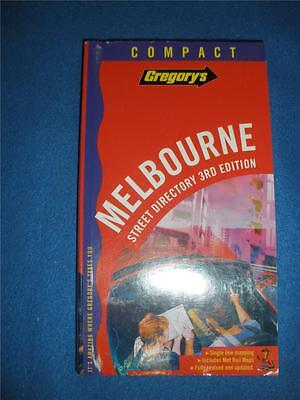 GREGORY'S MELBOURNE SREET DIRECTORY 3rd EDITION