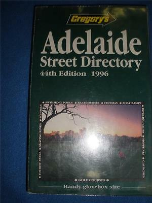 GREGORY'S ADELAIDE SREET DIRECTORY 44th EDITION 1996
