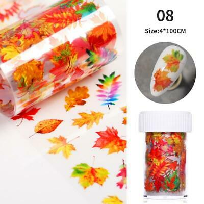 Holographic Holo Starry Nail Foils Glitter Nail Transfer Stickers Paper Manicure