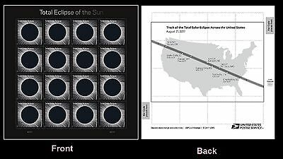US 5211 Total Eclipse of the Sun forever sheet MNH 2017
