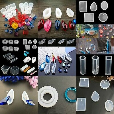 Lots Type Mold Making Jewelry Ornament Resin Casting Mould Craft Tool DIY