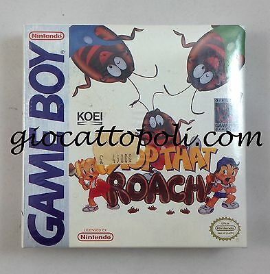 "Nintendo Game Boy ""stop That Roach"" Nuovo New Sealed Sigillato *[A Roma]*"