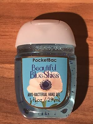 Bath And Body Works Beautiful Blue Skies Pocket Hand Sanitiser