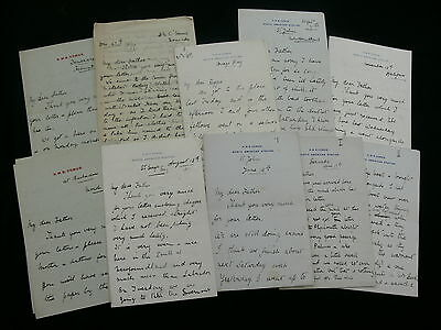 Royal Navy Life c.1897-1903 Series of 30 Midshipman's Letters Home