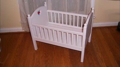 Retired American Girl AG Bitty Baby Crib Bed Doll Furniture