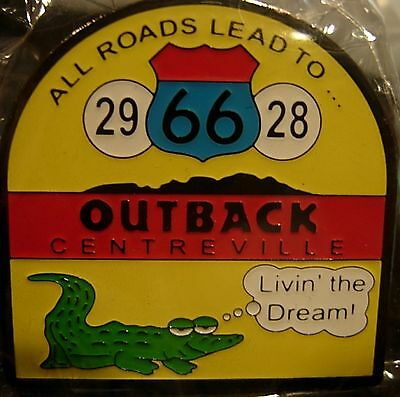 J6214 Outback Steakhouse Centreville hat lapel pin