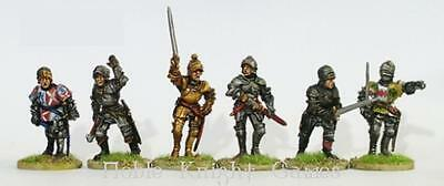 Perry Historical Mini 28mm Yorkist Command & Warwick on Foot Pack MINT