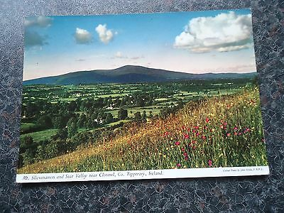 Postcard Mt Slievenamon And Suir Valley Nr Clonmel Co Tipperary 1965 ?