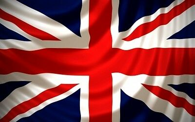 5x8 ft United Kingdom Great Britain Union Jack Flag Outdoor Print Nylon USA Made